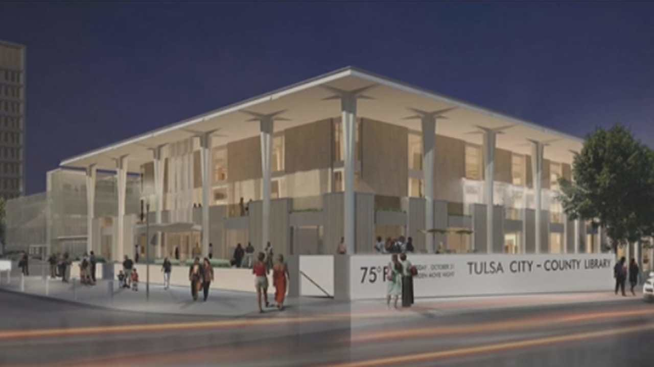 $55 Million Renovation Of Downtown Tulsa Library Almost Complete