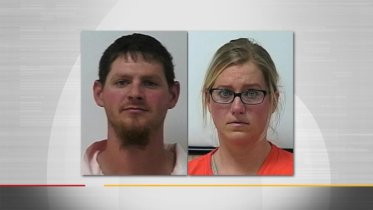 Ochelata Couple Charged With Arson