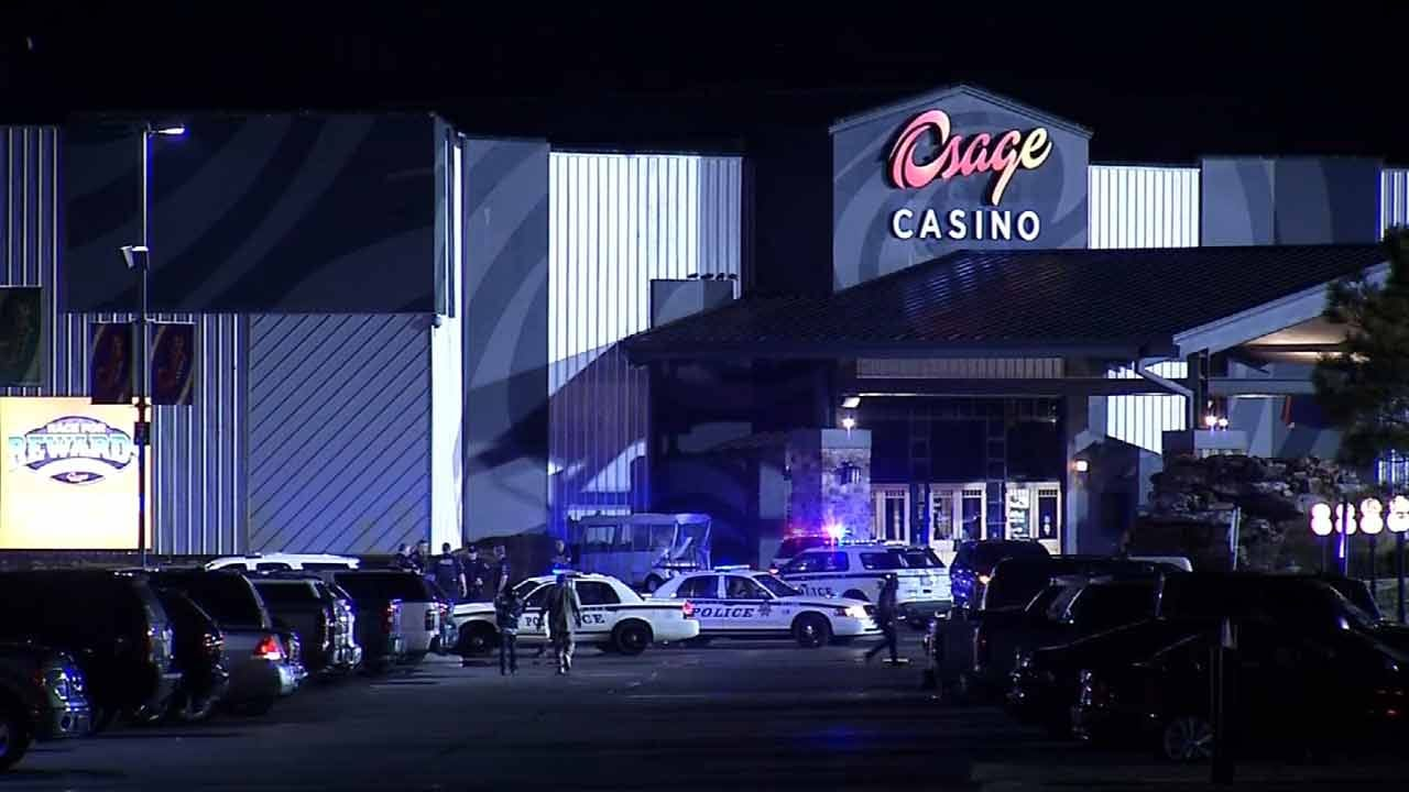 Tulsa Police Chase Stolen Pickup Suspect To A Casino