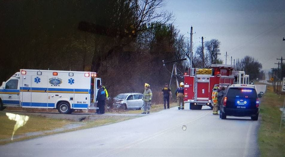 Wreck Knocks Out Power To Entire Town Of Oologah