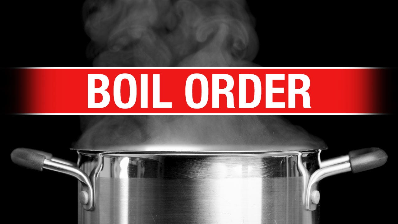 Boil Order Issued For Town Of Panama