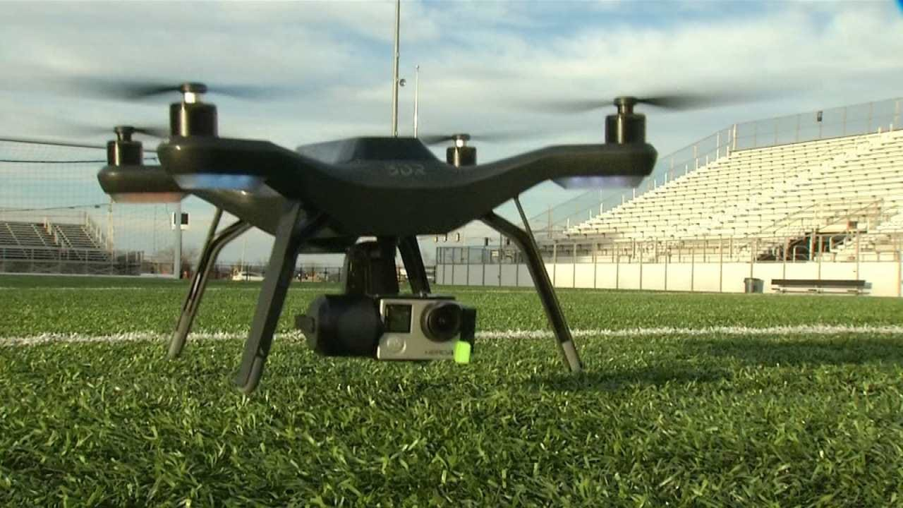 Drone 6 Joins The News On 6 Weather Team