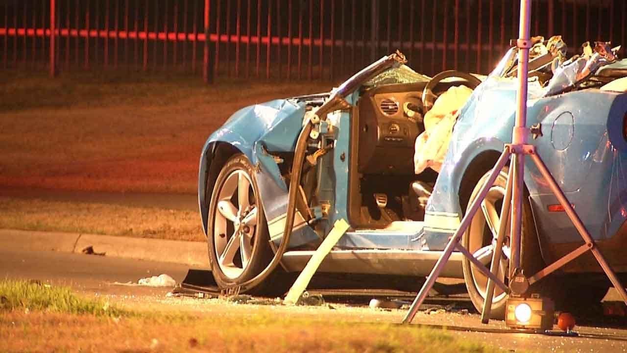 Third Man Dies After High-Speed Tulsa Wreck
