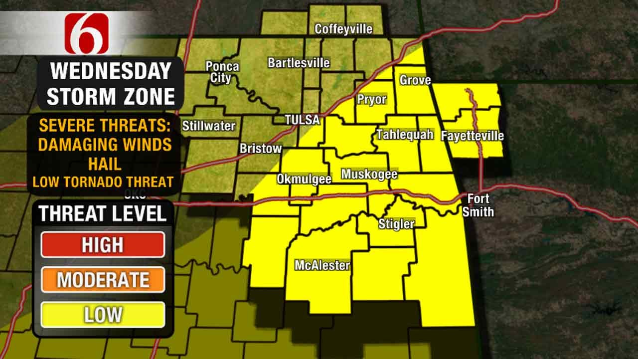 Alan Crone's Weather Blog: Severe Storm Chances Again Today