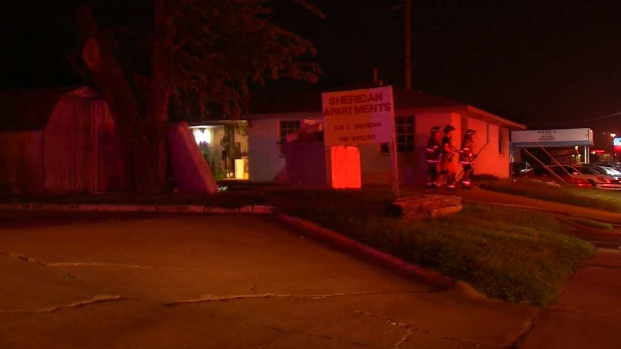 Cause Of Tulsa Apartment Fire Ruled Accidential