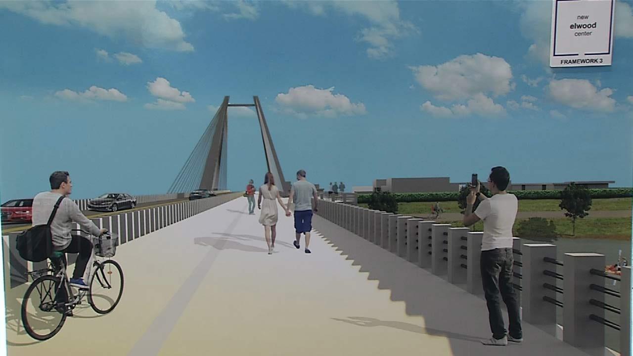 OU-Tulsa Students Show Off Bike-Friendly Designs For Arkansas River