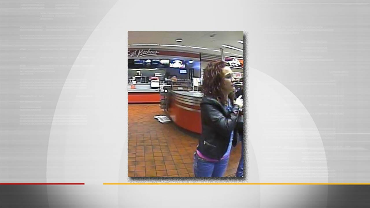 Tulsa Police Seek Person Of Interest In Financial Theft