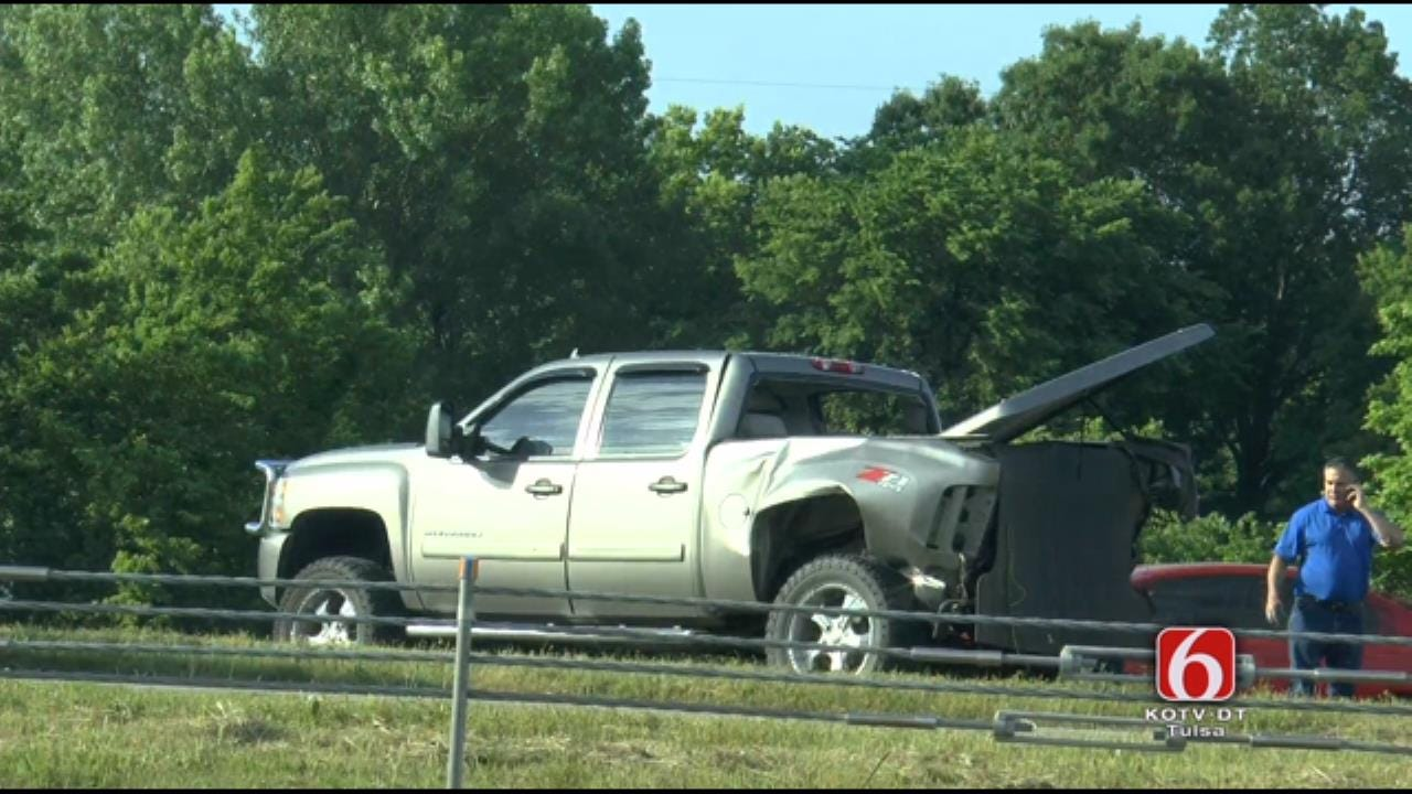 Two Injured In Chain-Reaction Crash On Highway 412 Near Sand Springs