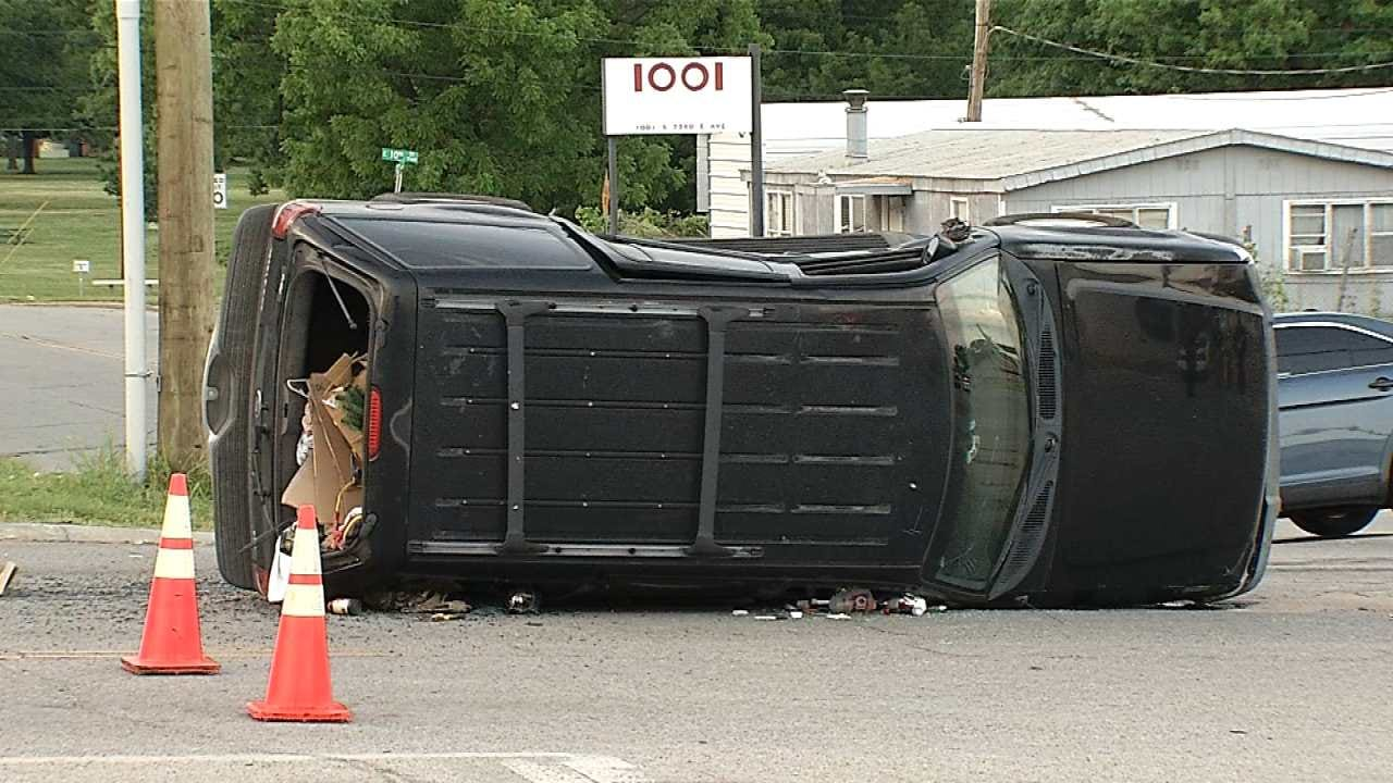 Police: Driver's Medical Issue May Have Caused Deadly Tulsa Crash