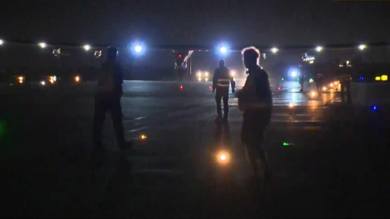 Solar Impulse 2 Lands At Tulsa International Airport
