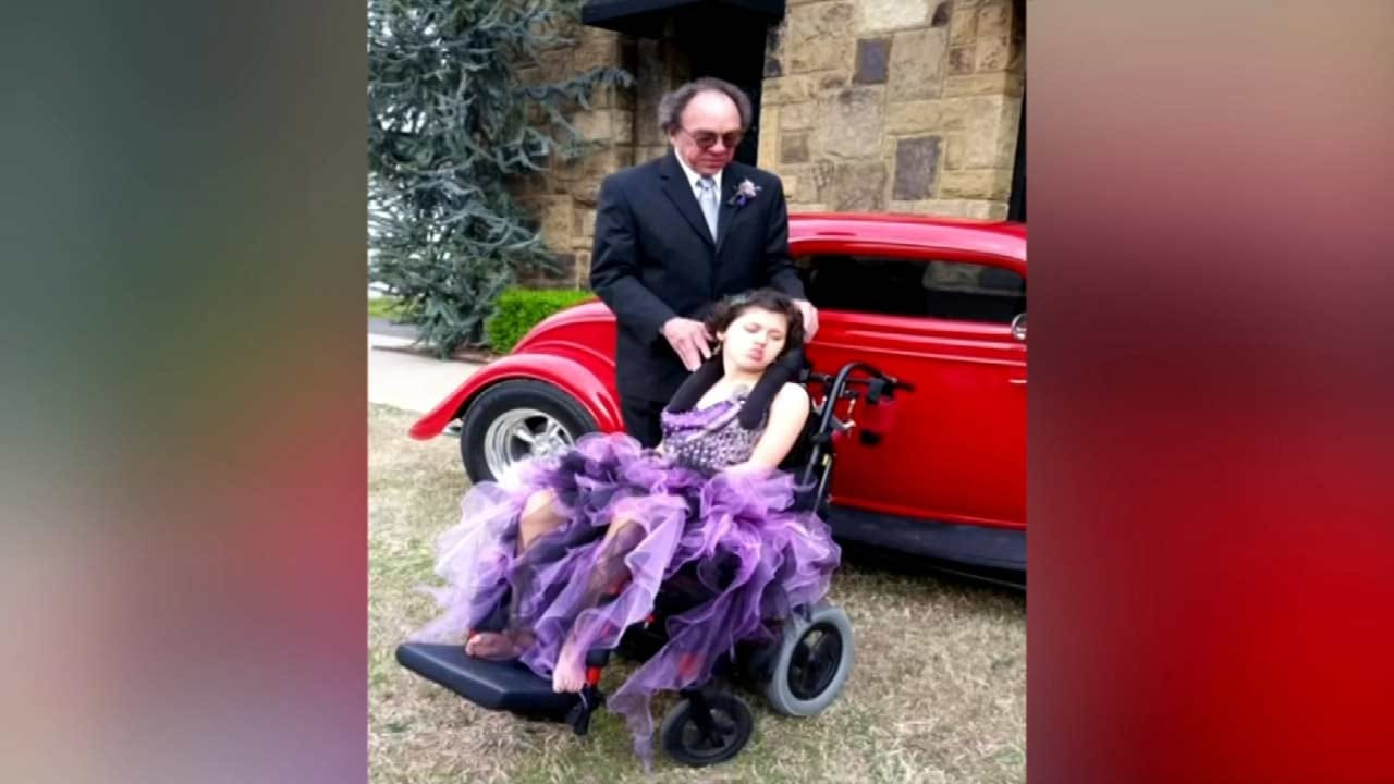Special Needs Hulbert Teen Surprises Pediatrician With Prom Invitation
