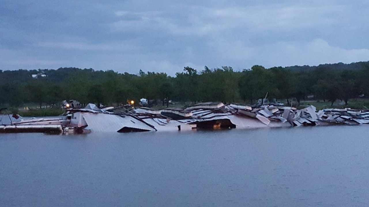 Storm Damage, Injury Reported In Cherokee, Latimer Counties