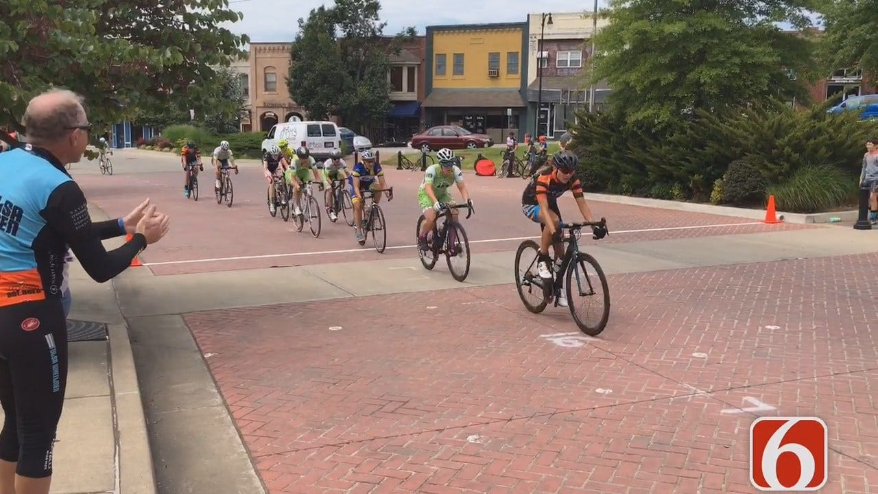 Cyclists Race Sand Springs To Benefit Drug Rehab Program