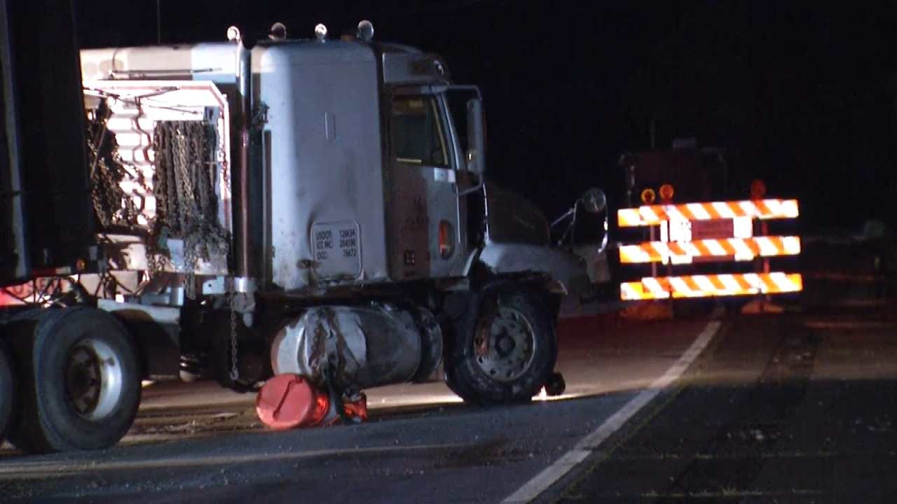 Eastbound Keystone Expressway Reopened After Injury Wreck
