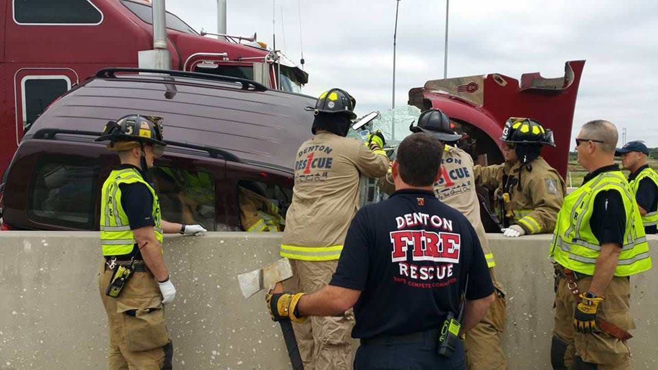 Oklahoma National Guardsman Helps At Car Crash Scene, Again