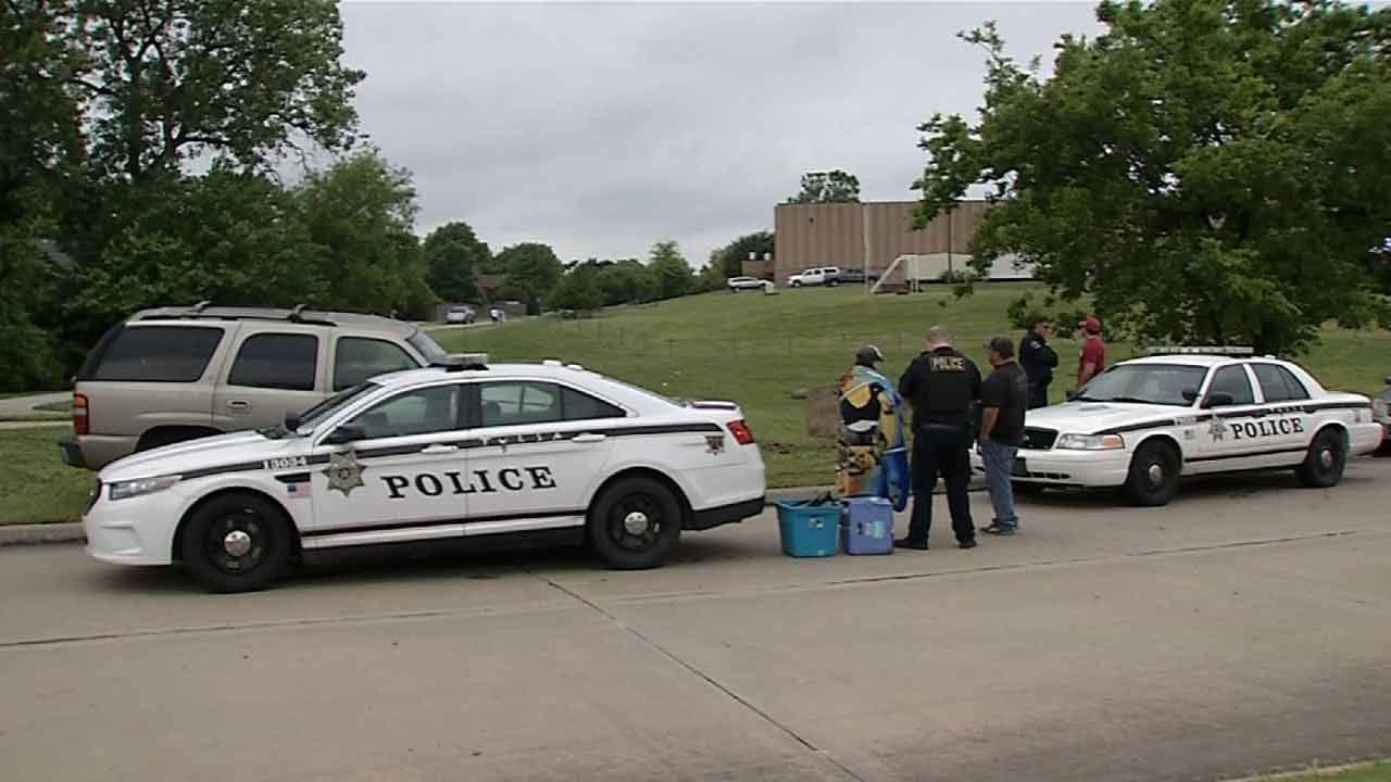 Police Find Marijuana In Teen's Car After Crash At Tulsa School