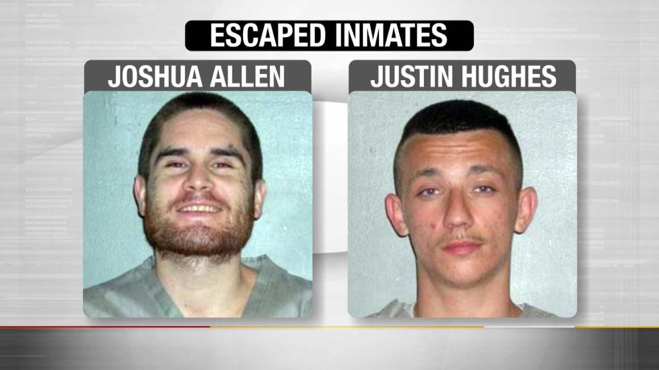 Captured: Two Inmates From Atoka Correctional Center
