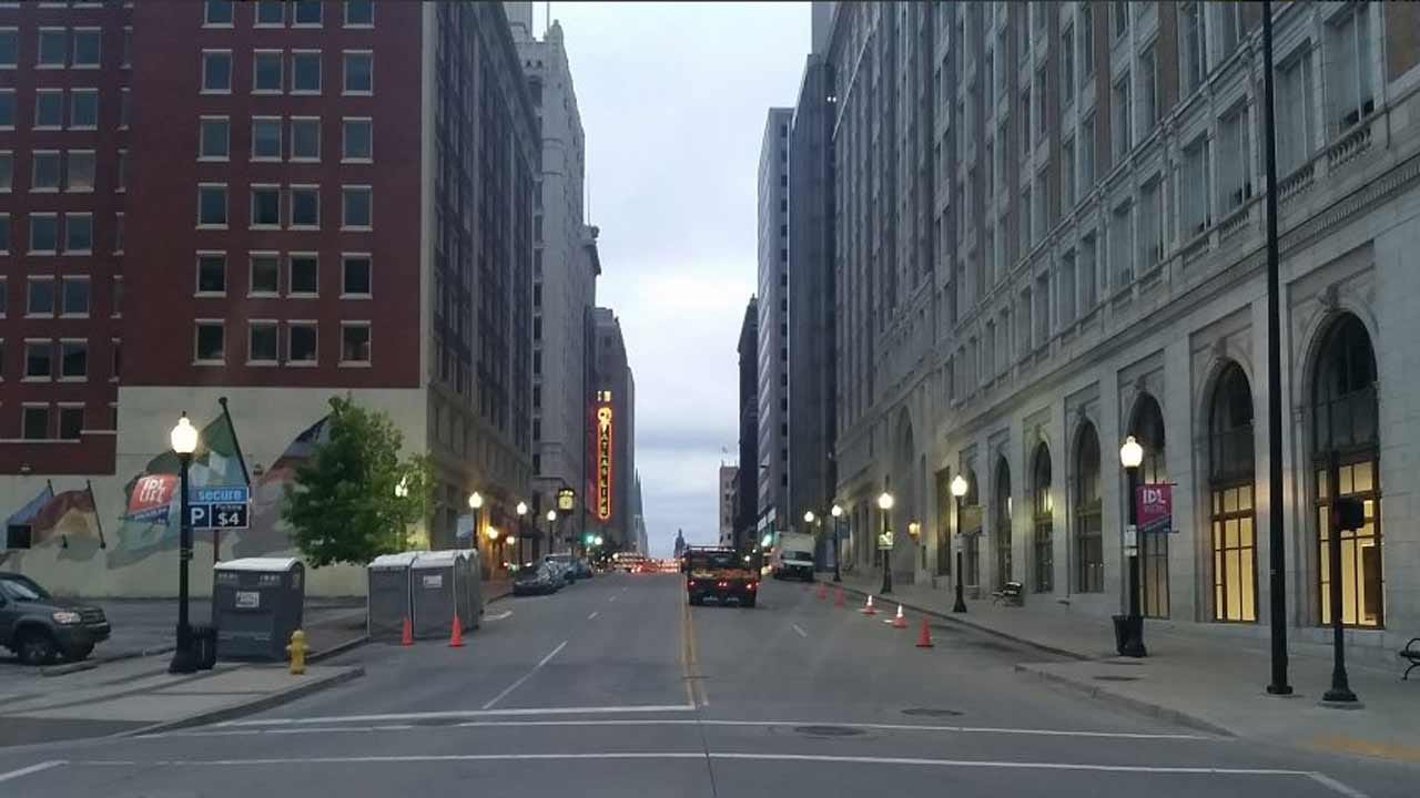 Downtown Tulsa Preparing For Mayfest With Street Closures