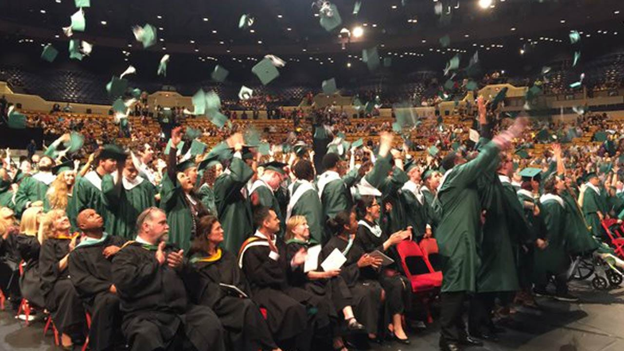 Edison Student Crushed By Concrete Pillars Graduates With Class Of 2016