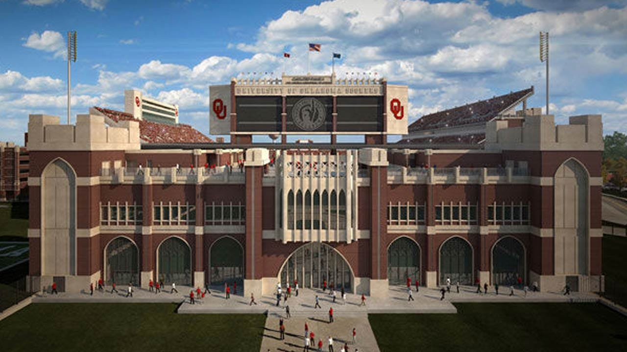 OU Football: Sooner Fans To Get First Look At 'New Stadium' During Home Opener