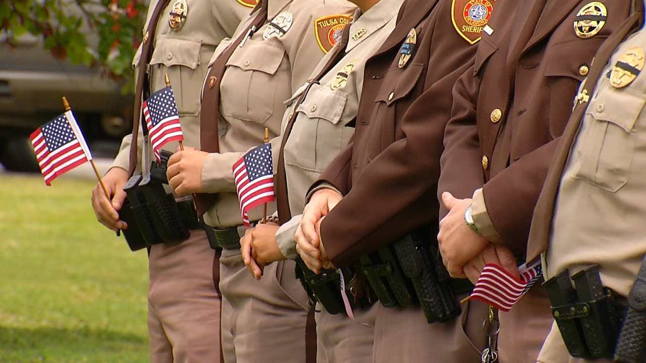 Tulsa County Sheriff's Office Honors Fallen Officers With Memorial Service