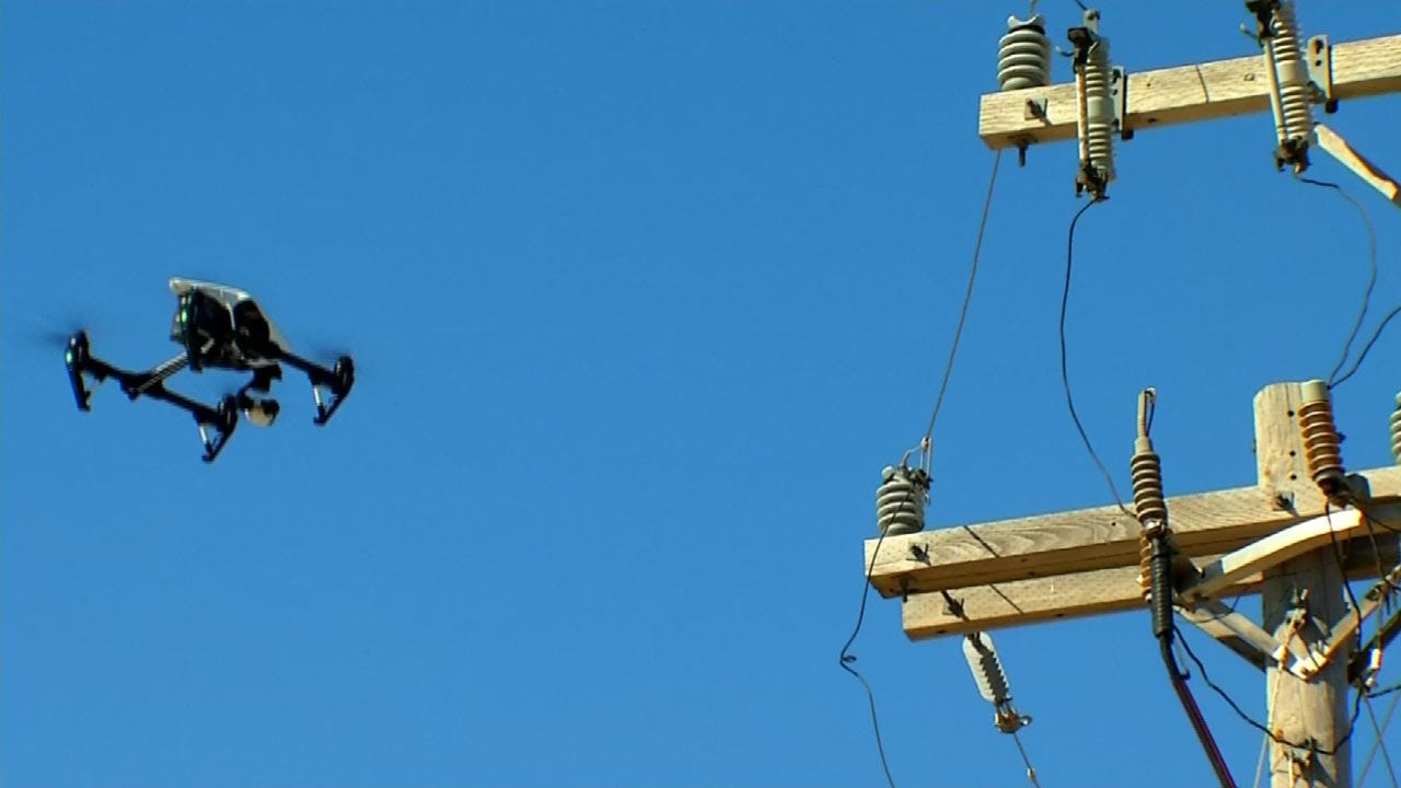 Drone Technology To Help During Power Outages In Oklahoma