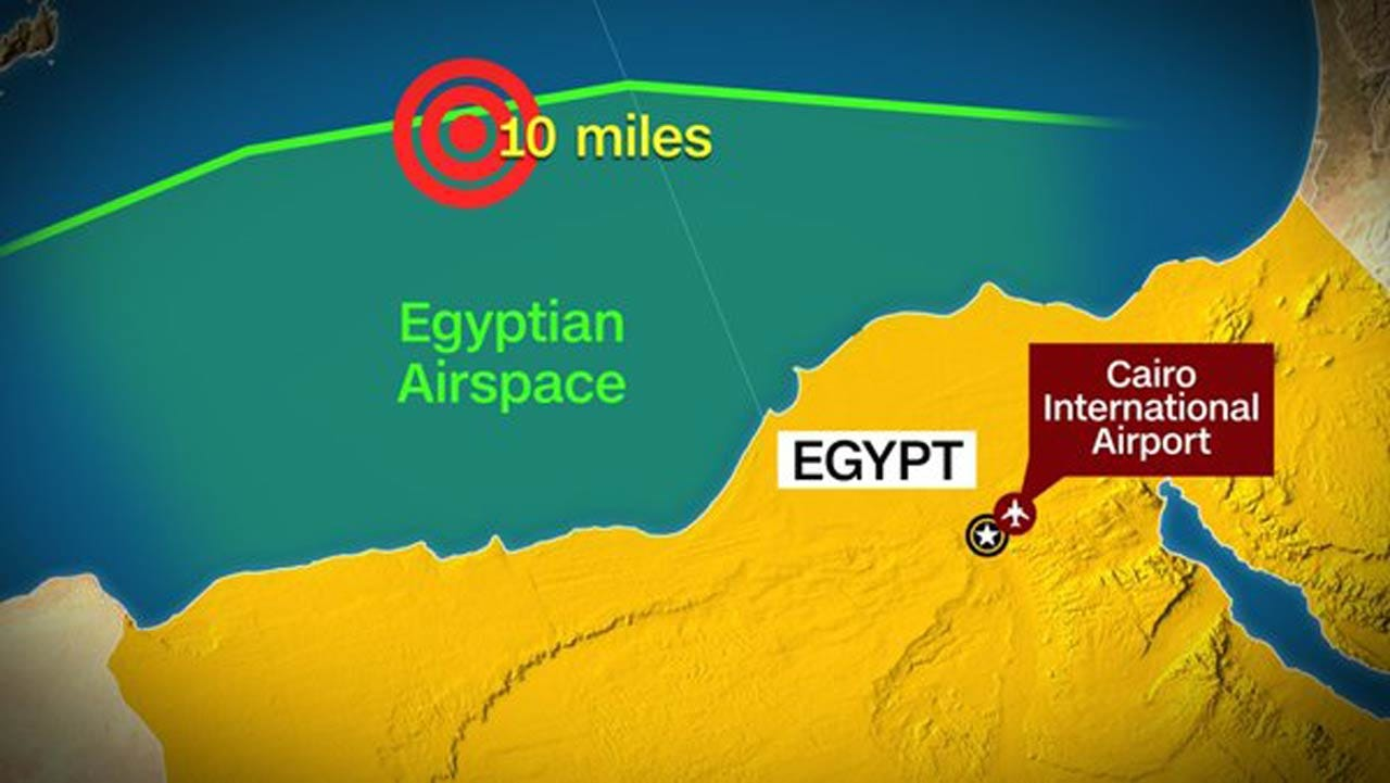 EgyptAir Crash Deemed More Likely Terror Than Tech Failure