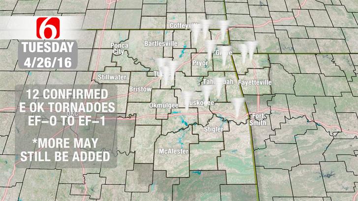 Dick Faurot's Weather Blog: April 26 Tornado Numbers Keep Rising