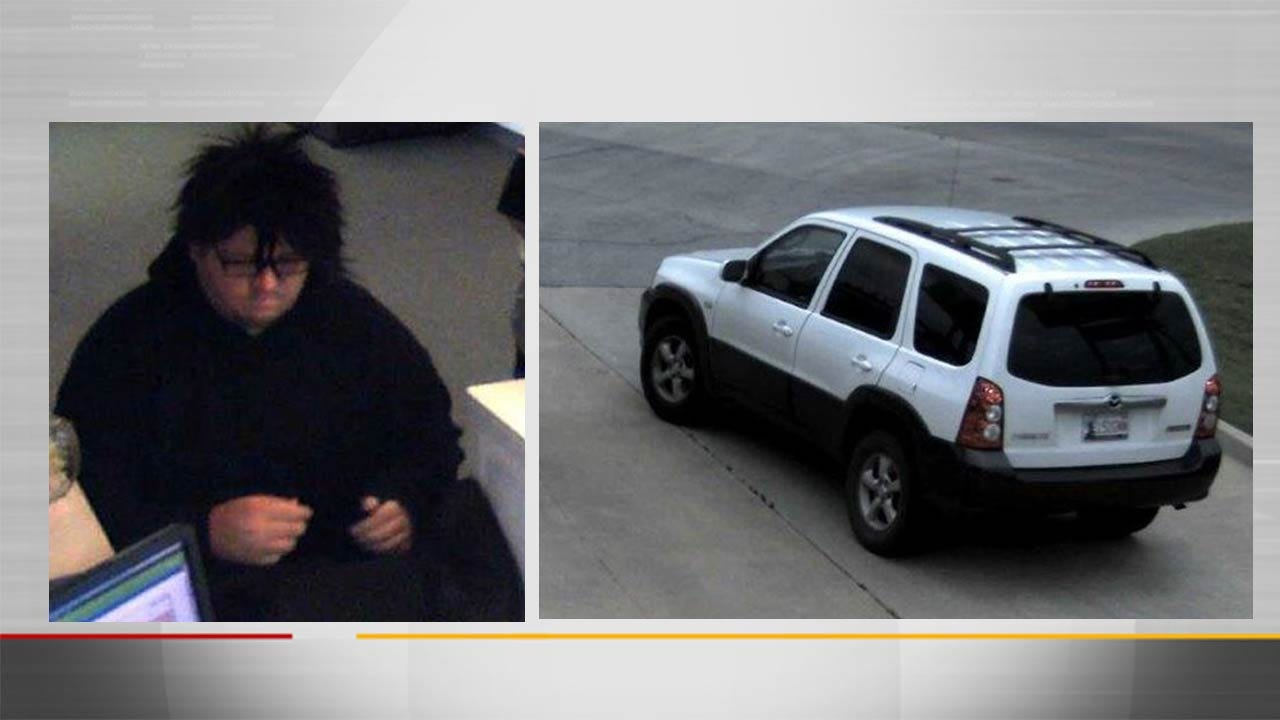 Bixby Police: Man Robbed Credit Union With 2-Year-Old Daughter In Car