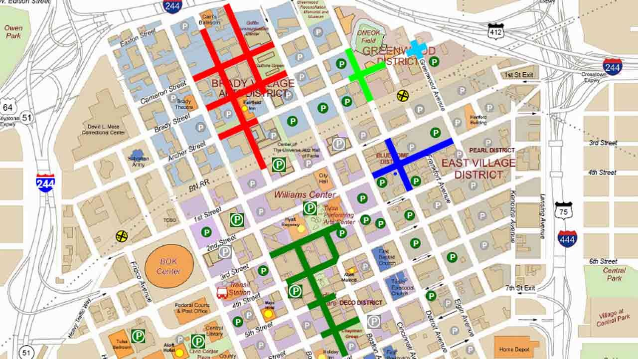 Busy Downtown Weekend Prompts Several Road Closures