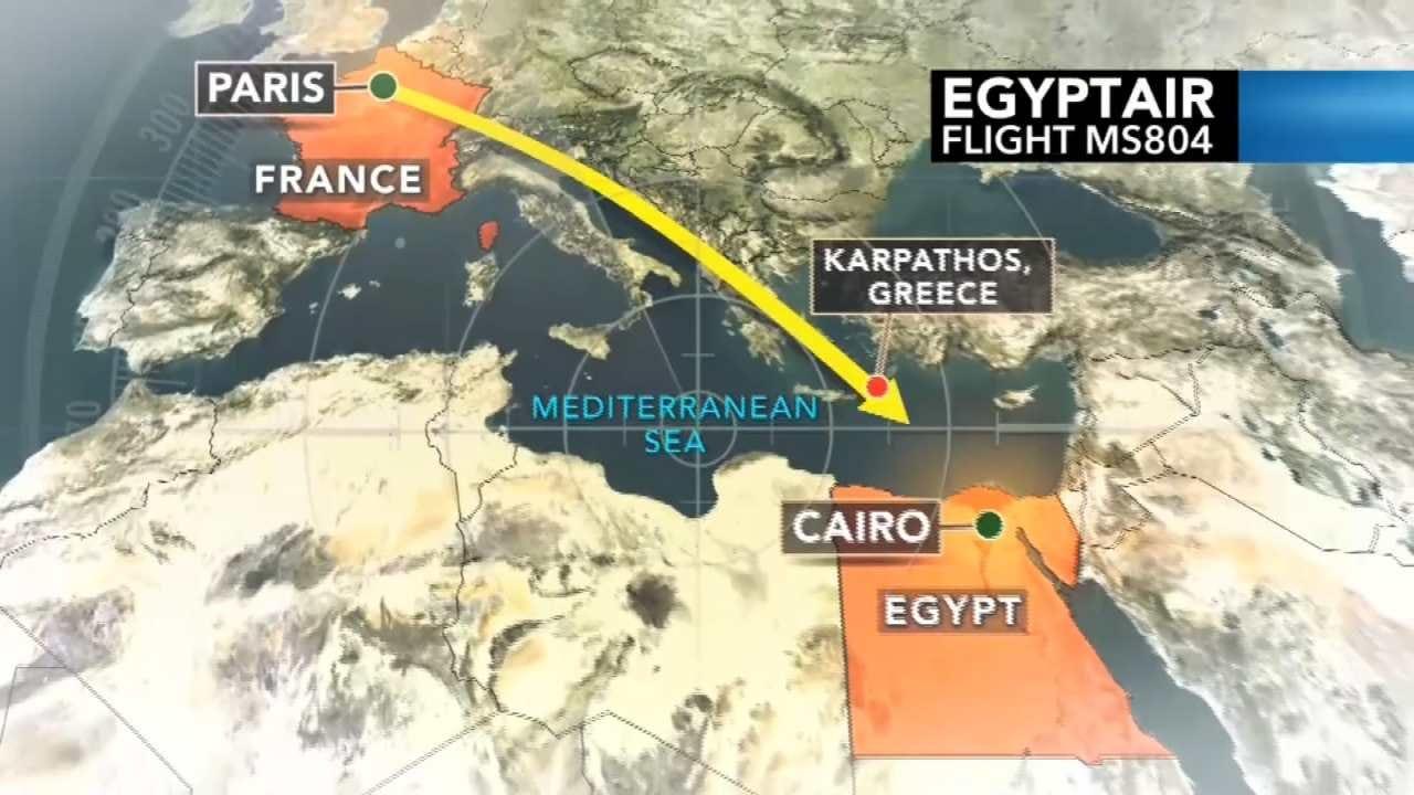 Debris From Missing EgyptAir Jet Found