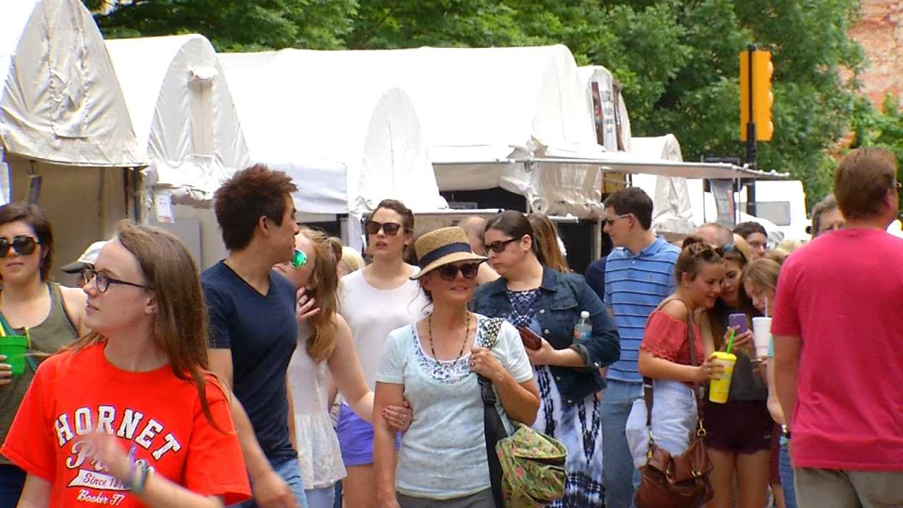 Downtown Festivals Bring In Art, Fun, Money To Tulsa