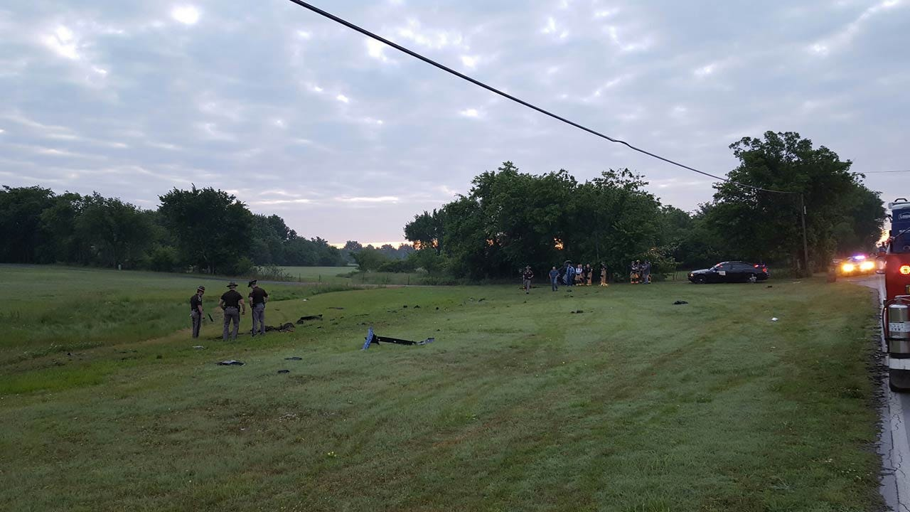 Two Seriously Injured In Rogers County Crash East Of Owasso