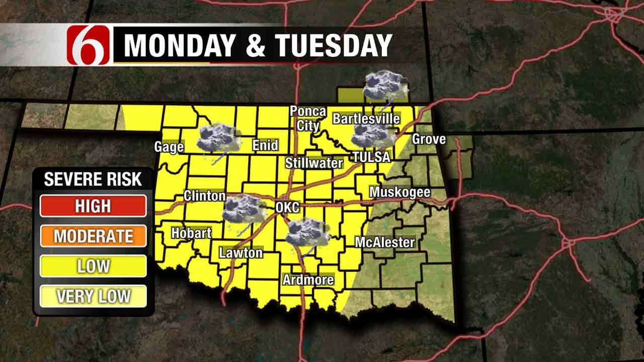 Thunderstorm Chances In The Forecast This Week