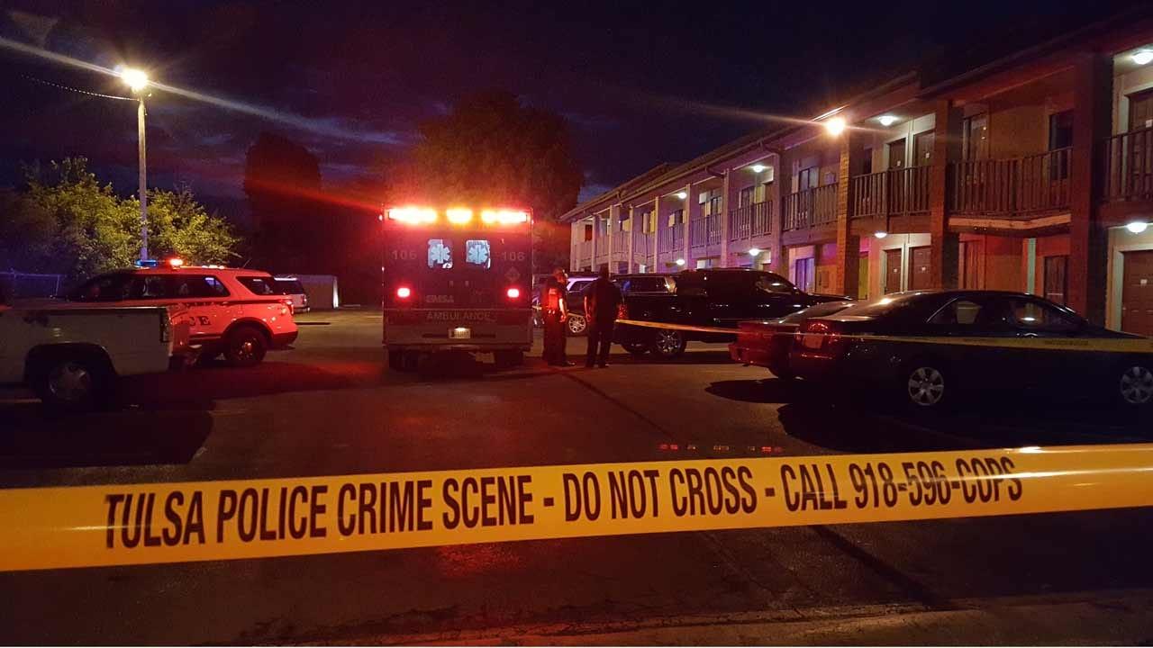 Woman Stabbed Outside Tulsa Motel