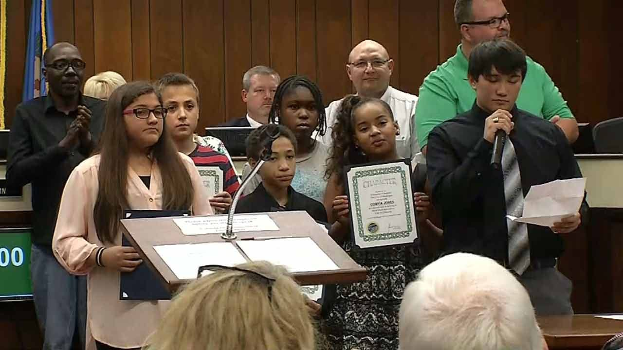 Muskogee Students Recognized For Character