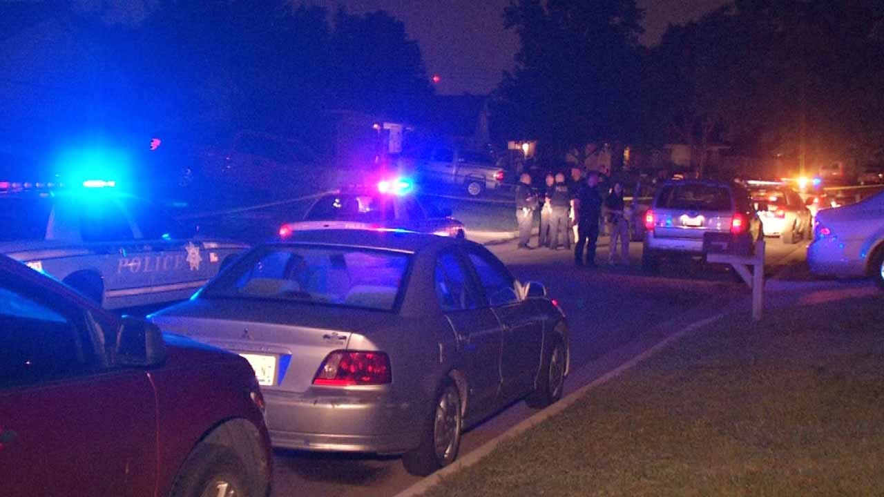 Police: Homeowner Attacked While Doing Yard Work, Shoots Man In Neck