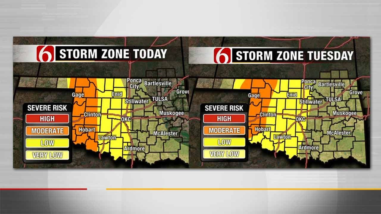 String Of Severe Weather Days Possible In Oklahoma