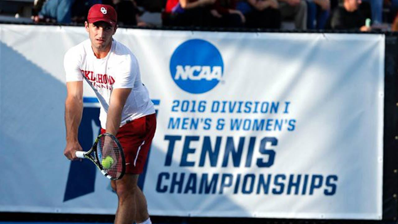 NCAA Tennis: Title Game Between OU, Virginia Delayed Due To Weather
