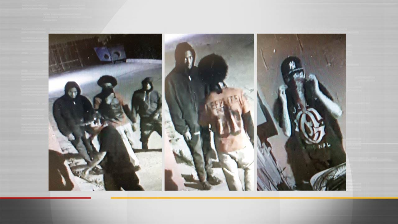 Police Seek To Identify Persons Of Interest In Tulsa Burglary Attempt