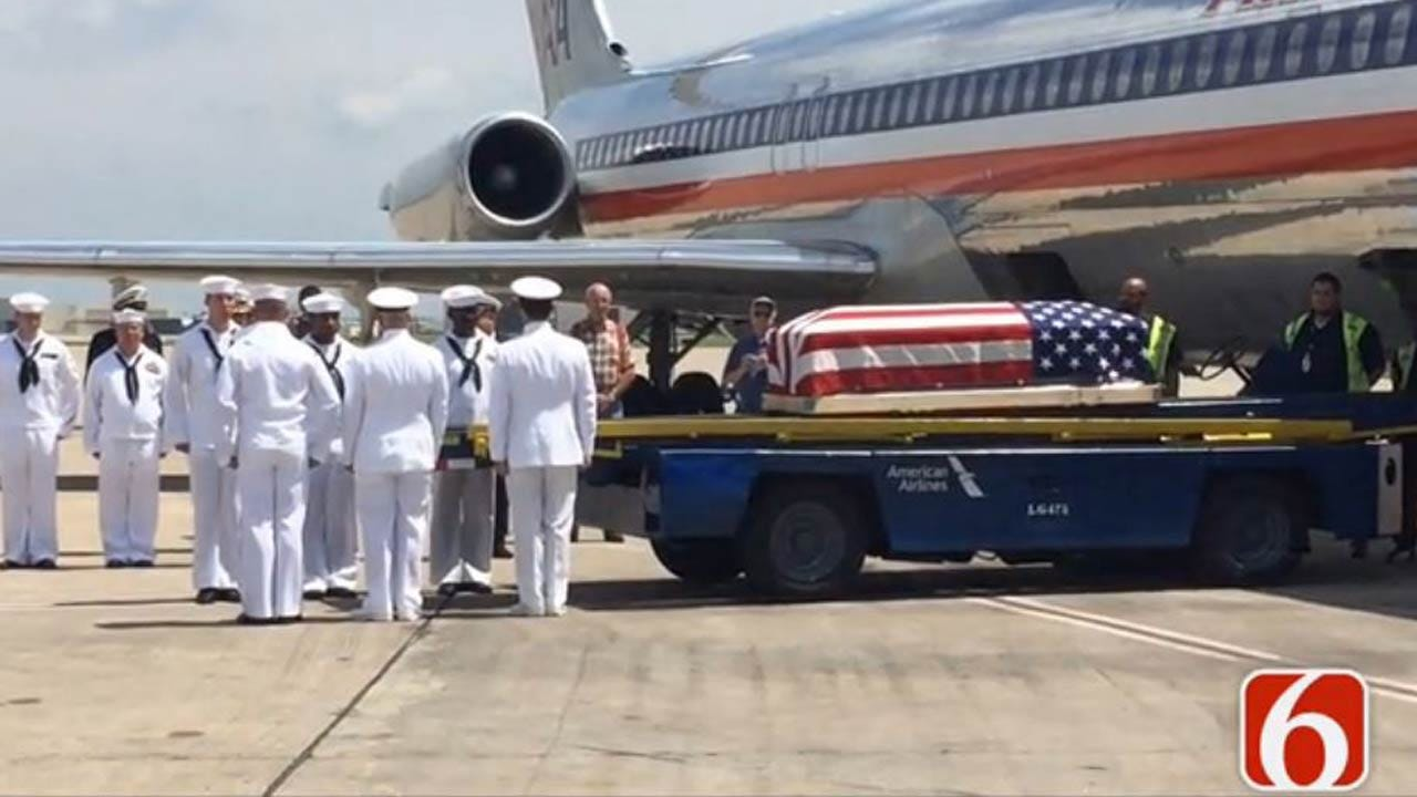 Remains Of Sailor Killed In Pearl Harbor Brought Home To SE Kansas