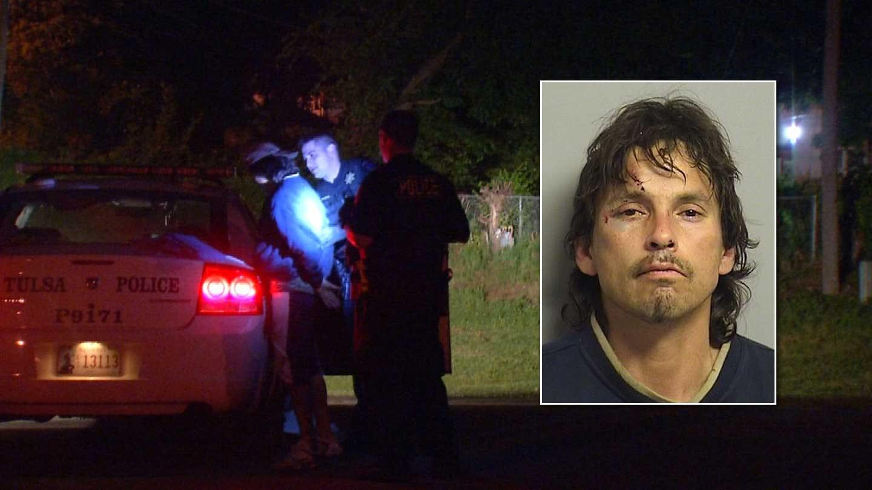 Tulsa Man Booked For Burglarizing Elementary School