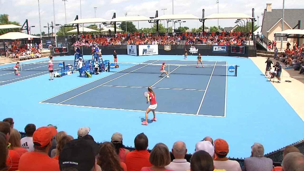 TU's Tennis Center Hosts NCAA Championship; Brings Economic Boost