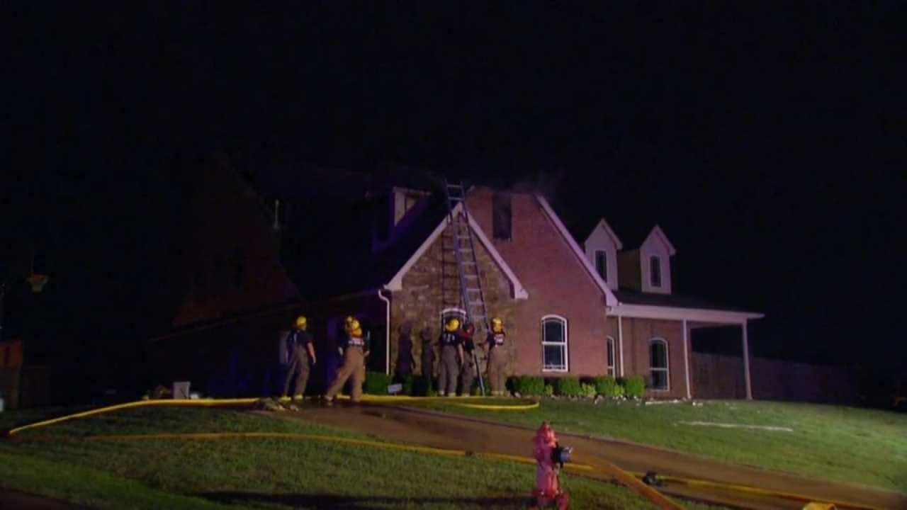 Lightning Blamed For Coweta House Fire