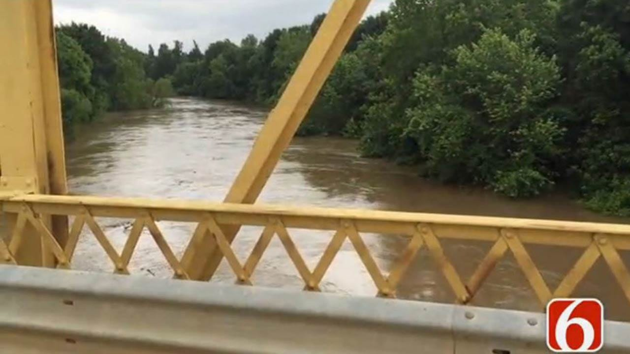 Flood Warning Issued For Caney River In Tulsa, Rogers Counties