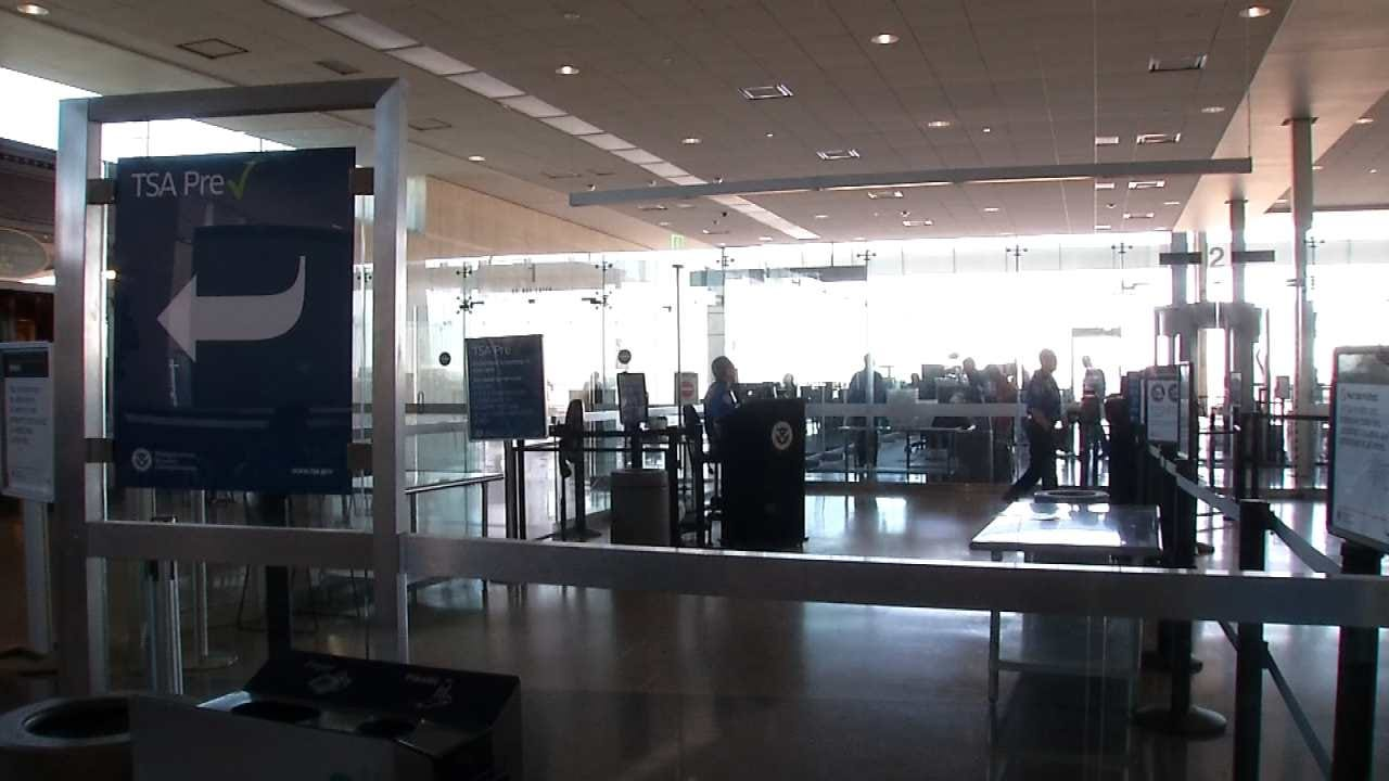 Holiday Travelers Urged To Arrive Early For Flights Leaving Tulsa
