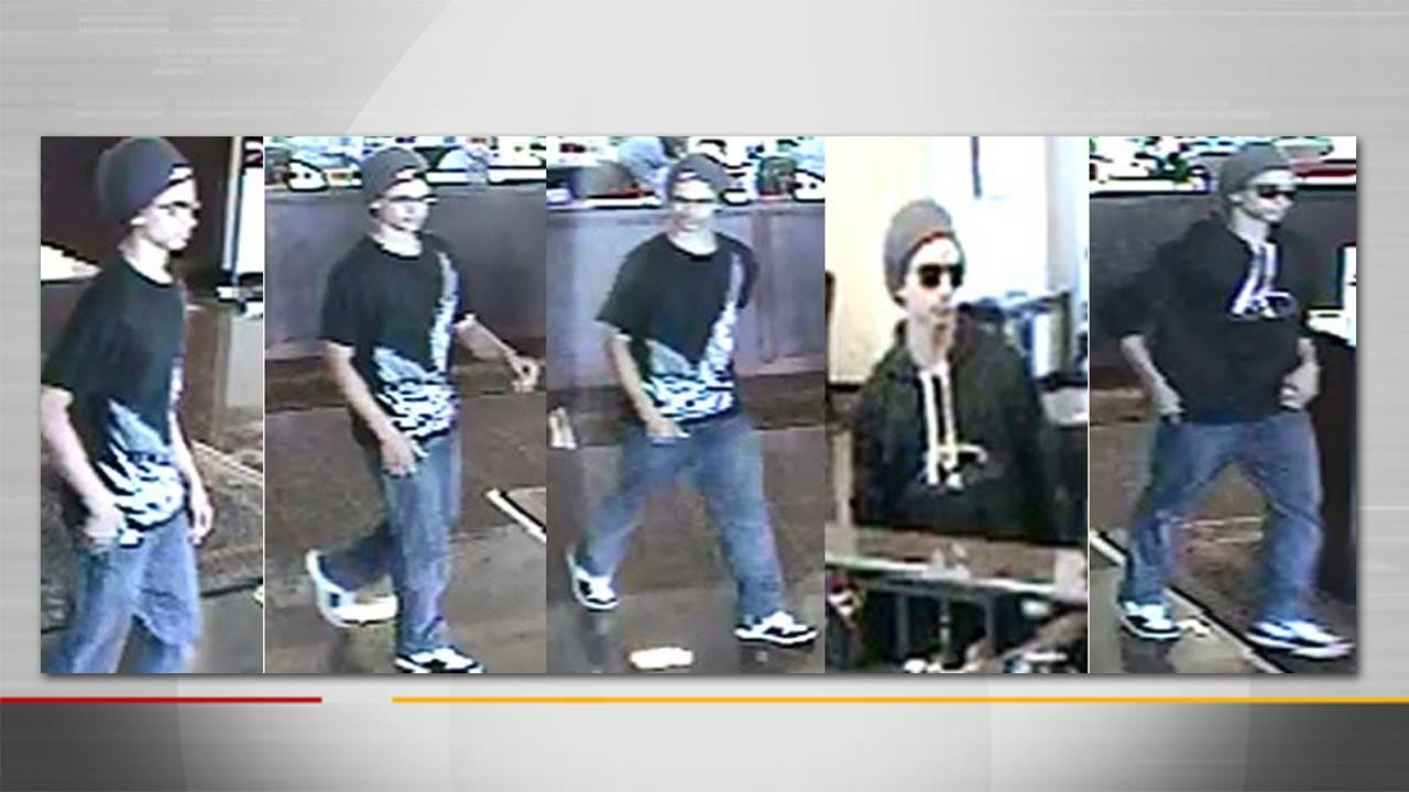 Photos, Video Of Suspect In Tulsa Bank Robbery Released