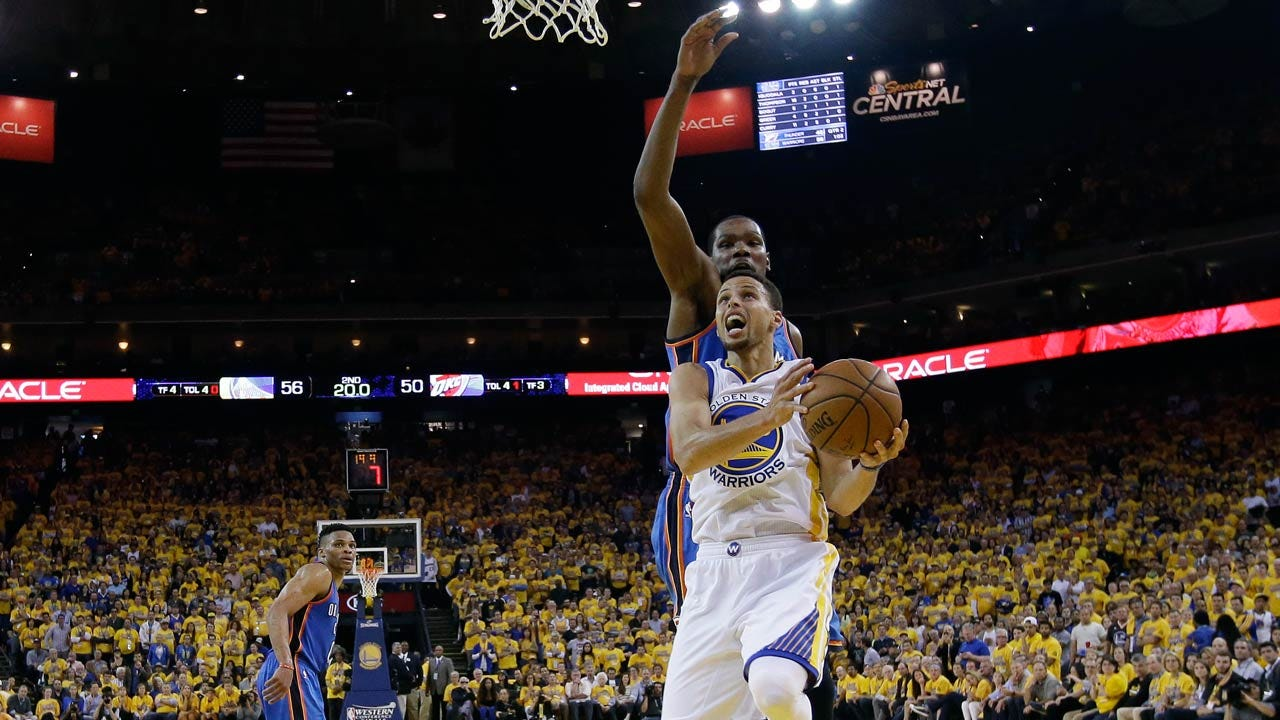Splash Bros: Curry, Thompson Help Warriors Keep Fight Alive With Game 5 Win