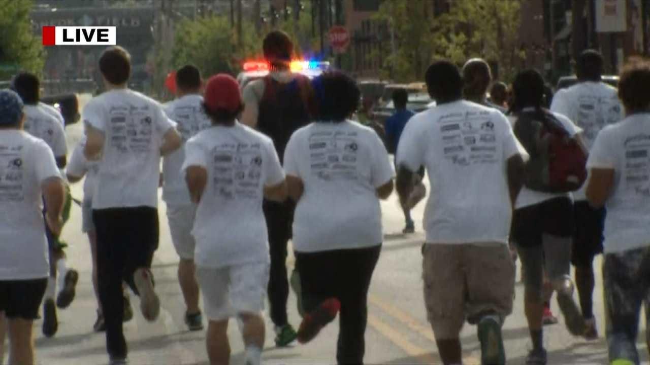 Criticism Doesn't Stop Tulsa Celebrate Reconciliation Fun Run