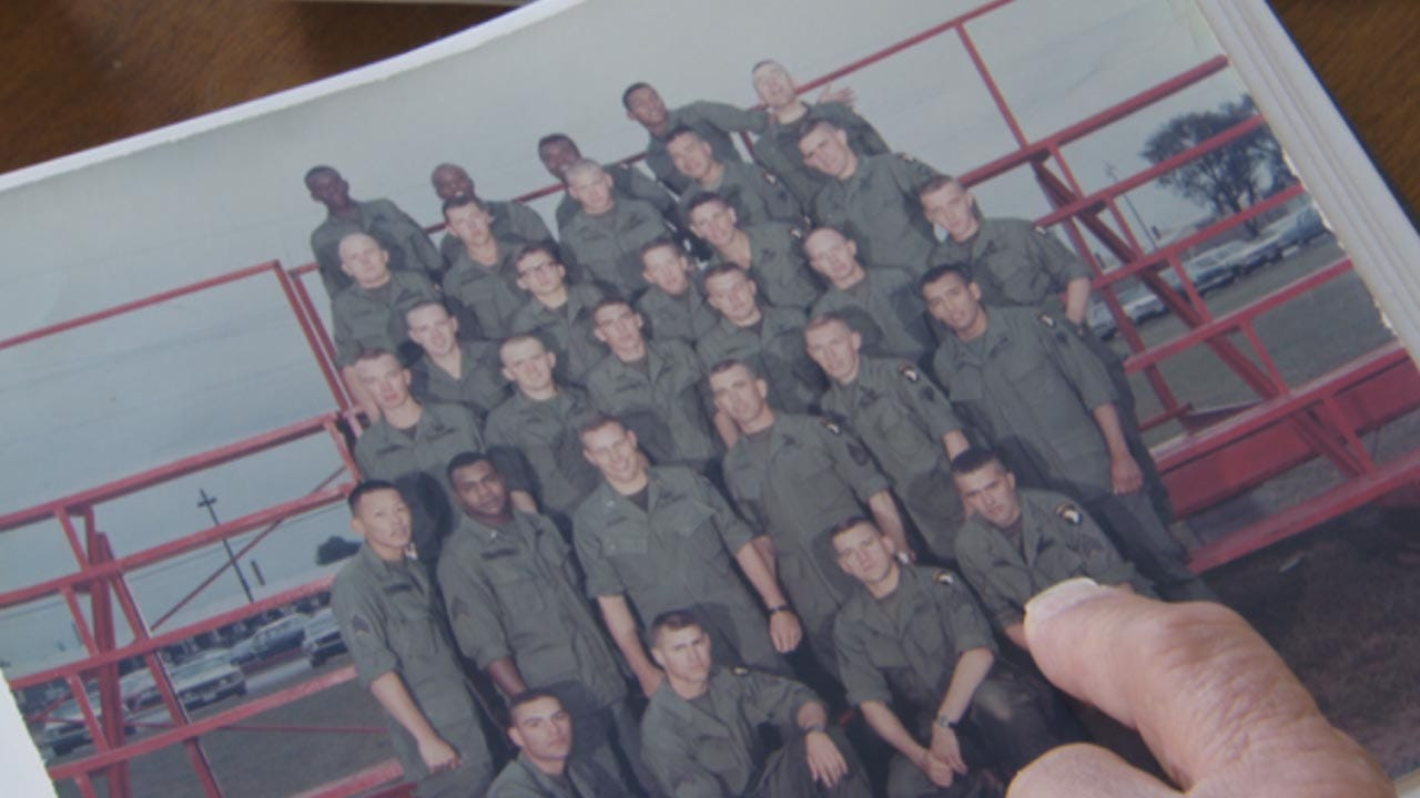 Vietnam Soldier Saved From The Dead Honors His Fellow Veterans
